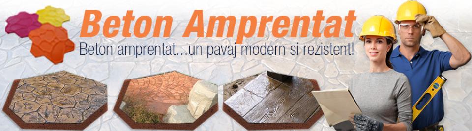 Beton Amprentat - Beton amprentat : pavaj din beton amprentat in toata Romania. Beton amprentat si materiale pentru beton amprentat.
